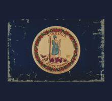 Virginia State Flag VINTAGE by USAswagg2
