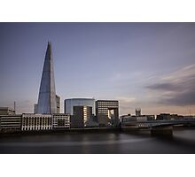 Divagation - London Lights Photographic Print