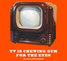 TV Is Chewing Gum For The Eyes by pohcsneb