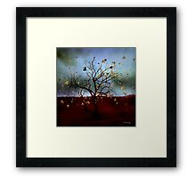 Scattered thoughts ... Framed Print
