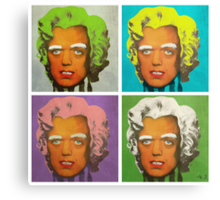 Oompa Loompa set of 4 Canvas Print