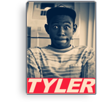 Tyler the Creator Obey Style Canvas Print