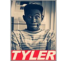 Tyler the Creator Obey Style Photographic Print