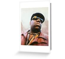 Biggie Smalls Notorious Rapp Autumn Dream Wrap Greeting Card