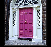 Red Door - Dublin by Roberta Angiolani