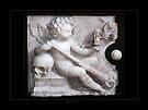 Cherub (funerary plaque) by Roberta Angiolani