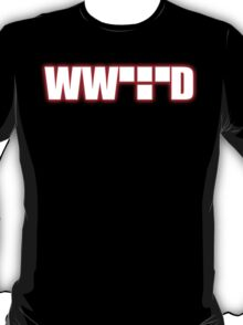 What Would Tron Do? [Red Ver.] T-Shirt