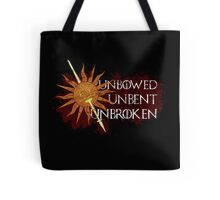 Unbowed Unbent Unbroken - House Martell Tote Bag