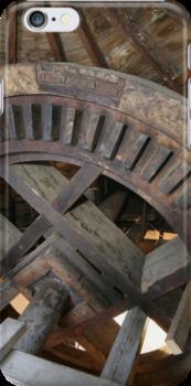Cley Windmill machinery by cleywindmill