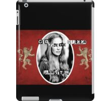 Mozart and Marie Game of Thrones God Save the Queen Cersei iPad Case/Skin
