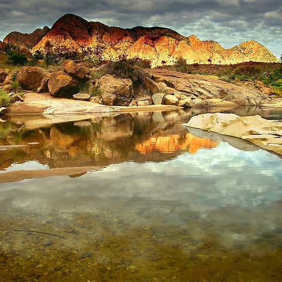Mount Giles, Central Australia by Kevin McGennan