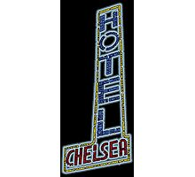Hotel Chelsea Legends Typography Photographic Print