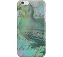The Albatross Did Follow iPhone Case/Skin
