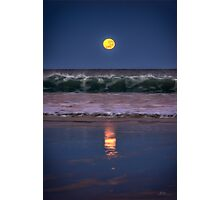 Broome Supermoon Photographic Print