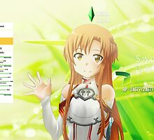 Sword Art Online Asuna by Joel Birch