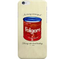 In Loving Memory of Donny Who Loved Bowling pop art variant 1 iPhone Case/Skin