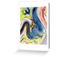 Allah Art Hd Print  Greeting Card