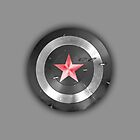 The Winter Soldier Shield by alicejaimie