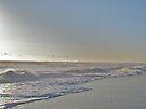 Sunrise Surf - Island Beach State Park, NJ by MotherNature