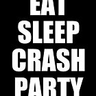 Eat, Sleep, Crash Party by BrodieLeigh