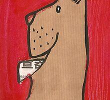 happy dog- happy day by Harriet Wenske