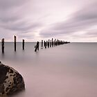 The old jetty in Bridport by Imi Koetz