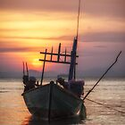 Kep Sunset Cambodia by Kevin Hayden