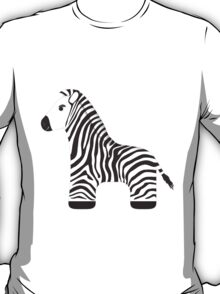 Cartoon Zebra T-Shirt