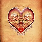 LOVE HEART - Natural by ifourdezign