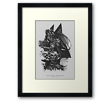 Batman: The Dark Knight Framed Print