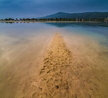 Greece lagoon beach  Halkidiki Sithonia. by jordanrusev