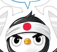 Penguin Chef Sticker