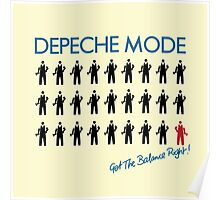 "Depeche Mode : Get The Balance Right - 7"" Poster"
