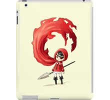 Red Cape iPad Case/Skin