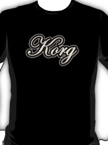 Korg  Instruments Vintage  T-Shirt