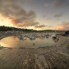 Lyme Regis Harbour  by Rob Hawkins