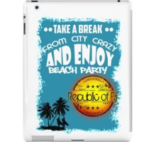 Republic Of Fiji Beach Day iPad Case/Skin