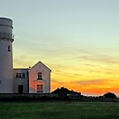 Hunstanton Lighthouse at sunset....  by Billlee