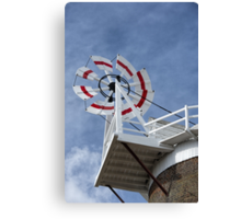Cley Windmill Fantail Canvas Print