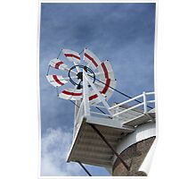 Cley Windmill Fantail Poster