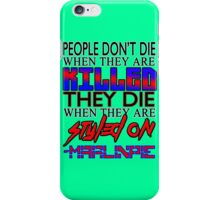 MarlinPie Styled On Quote iPhone Case/Skin