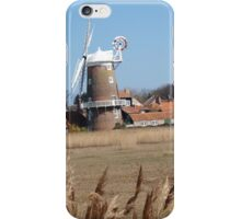 Cley Windmill from the reeds iPhone Case/Skin