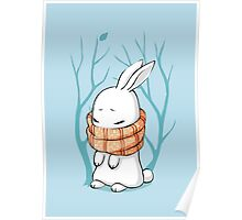 Winter Bunny Poster