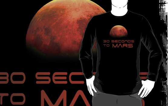 30 Seconds to Mars: T minus 30 seconds to impact by Matt Krueger