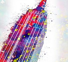 empire state building by motiashkar