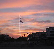 Beach Sunset by Manymonthsago