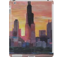 Chicago Skyline At Sunset iPad Case/Skin