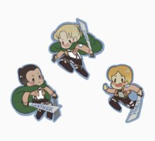 Attack on Titan Gunther, Erd, Moblit by toifshi