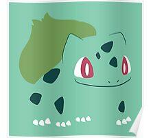 Pokemon - Bulbasaur #001 by AronGilli Poster