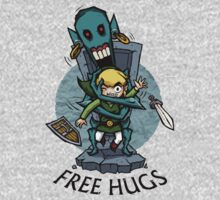 Legend of Zelda Wind Waker FREE HUGS T-Shirt Kids Clothes